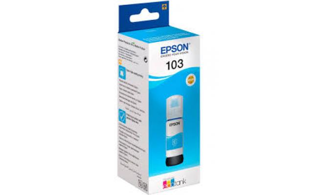 Epson Ink 103 Cyan (Original)