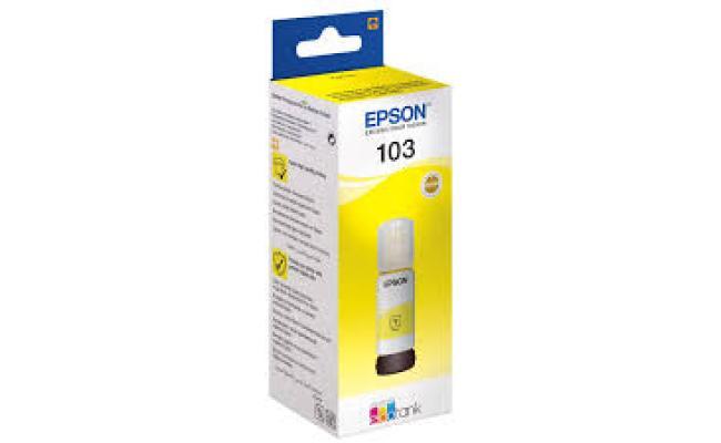 Epson Ink 103 Yellow (Original)