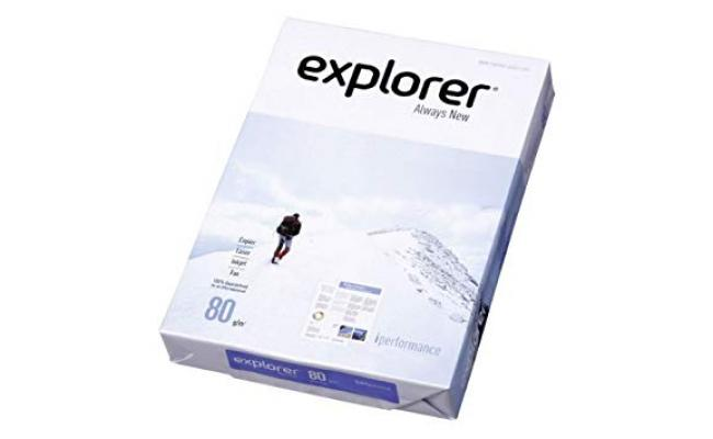 Paper A4 80GM White 500 Sheet Explorer(Paper-A4-500/Explorer)