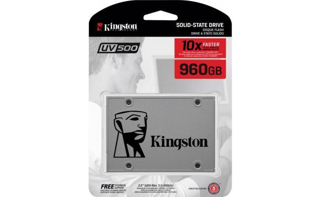 Kingston SUV500/960G SSD UV500 SATA3 2.5 Inch Stand-Alone Drive