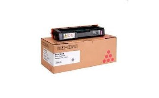 Ricoh 407644, Toner Cartridge MAGENTA, SP C220, SP C221, SP C222, SP C240- Original