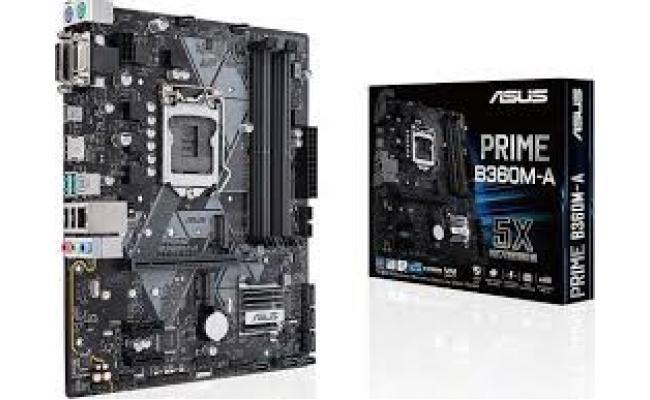 Asus Prime B360M-A Intel B360 GA 1151 (Socket H4) Micro TX