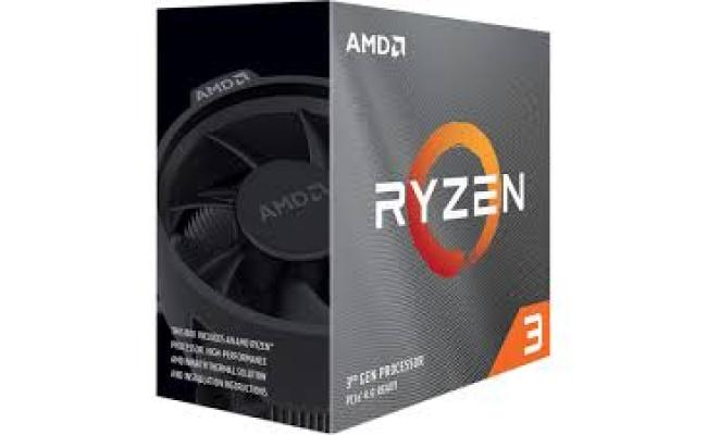 AMD  3 3100 4-Core, 8-Thread /3.6 Hz base /3.9 Hz Max Boost/Socket AM4 /discrete graphics card required