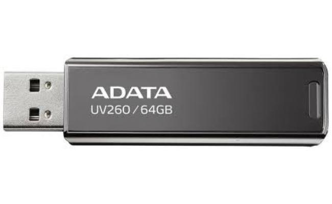 UV260 64GB BLACK RETAIL USB Flash Drive  (Metal)
