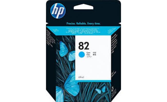 ORIGINAL HP C4911A (82) HIGH YIELD INK / INKJET CARTRIDGE CYAN