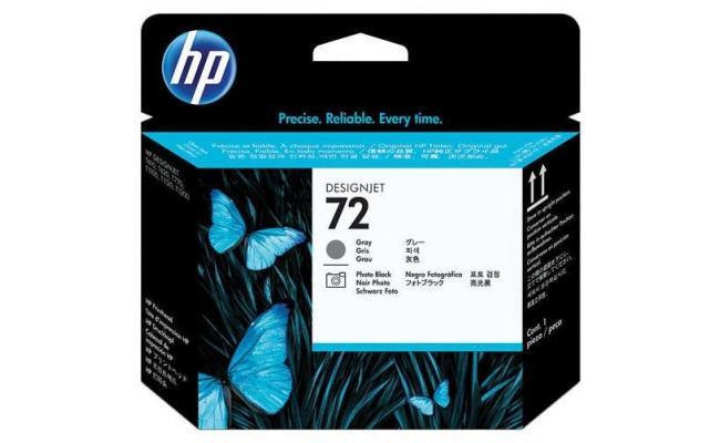 HP DESIGNJET 72  PRINTHEAD  grey & photo blk