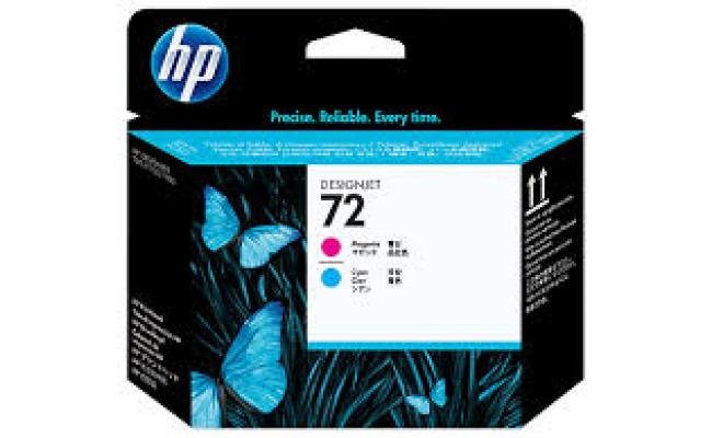 HP DESIGNJET 72  PRINTHEAD CYAN, MAGENTA