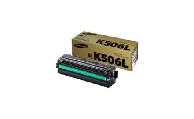Samsung CLT-K506L High Yield Black Toner Cartridge (SU173A)