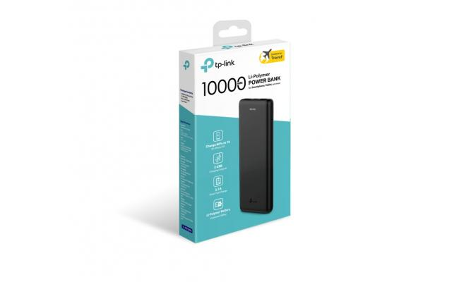 10000mAh Li-Polymer Power Bank TL-PB10000