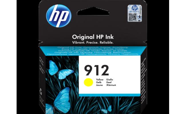 HP 912 Yellow Original Ink Cartridge (3YL79AE)