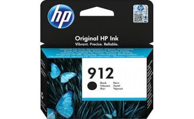 HP 912 Black Original Ink Cartridge (3YL80AE)