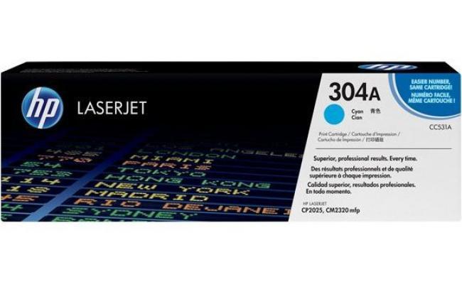 HP CC531A Laser Toner Cartridge Cyan (Original)