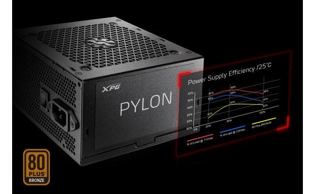 XPG PYLON PC Power Supply (550W)