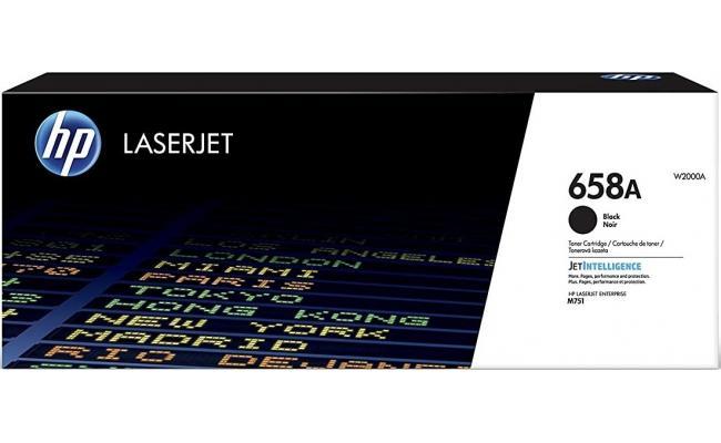 HP 658A Black Original LaserJet Toner Cartridge, W2000A ORGINAL