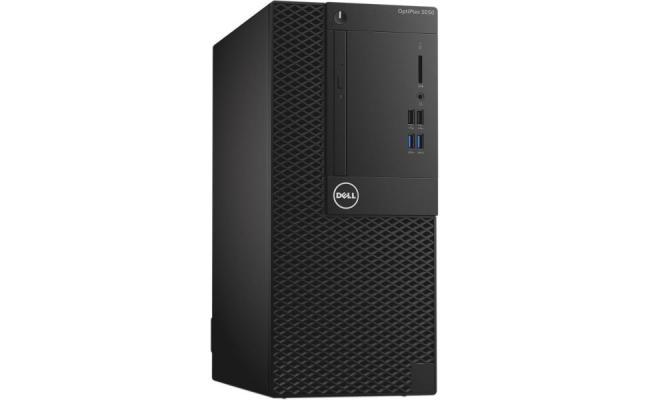 OptiPlex 3070 Mini Tower , Intel Core i5-9500 (3.0GHZ up to 4.4Ghz /6C/9MB/9TH GEN), 4GB (1x4GB) 2666MHz DDR4 Memory, 1TB SATA Hard Disk Drive, 8x DVD+/-RW 9.5mm Optical Disk Drive ,Keyboard - Arabic (QWERTY) - Black, - Next Business Day (Emerging Only)