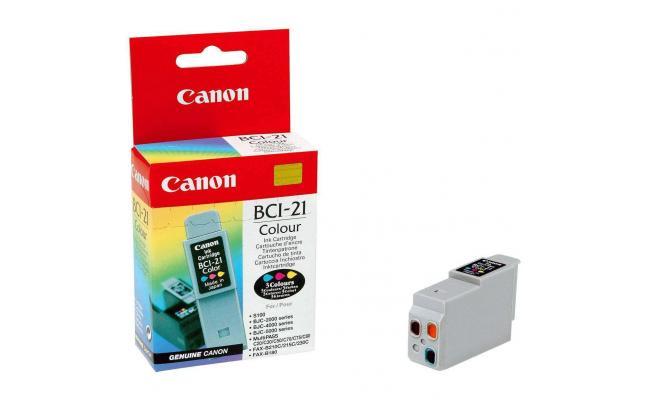 Canon BCI21C Ink / Inkjet Cartridge TRJ-Color