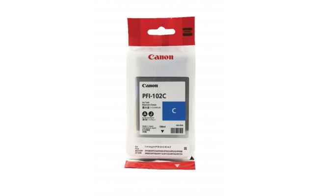 Canon PFI-102C Ink / Inkjet Cartridge Cyan (Original)