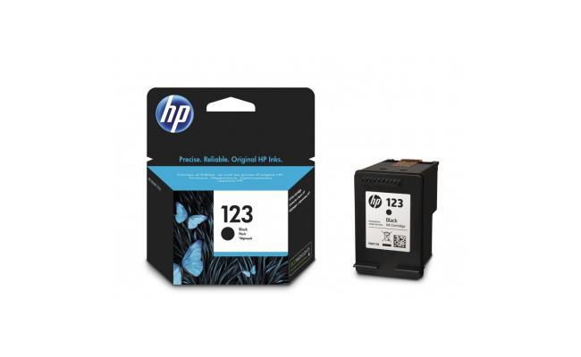 HP Ink 123 Black F6V17AE (Original)