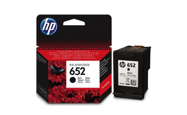 HP F6V25AE 652 Black Ink Cartridge (Original)